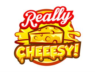 Really Cheesy! logo design