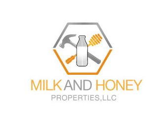 Milk and Honey Properties,LLC logo design