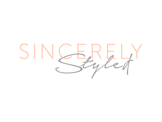 Sincerely Styled logo design