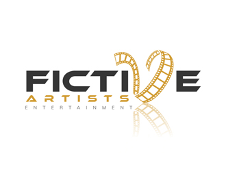 Fictive Artists Entertainment logo design