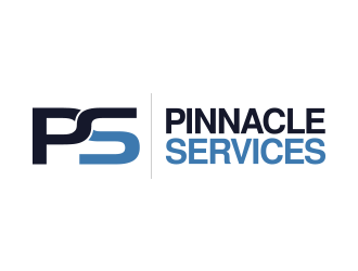 Pinnacle Services logo design