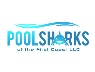 Pool Sharks of the First Coast LLC logo design
