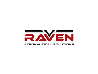 Raven Aeronautical Solutions logo design