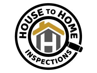 House to Home Inspections logo design