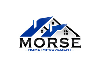 MORSE Home Improvement logo design