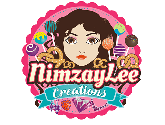 NimzayLee Creations logo design