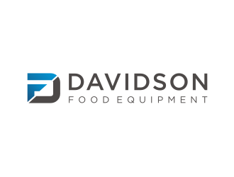 Davidson Food Equipment logo design