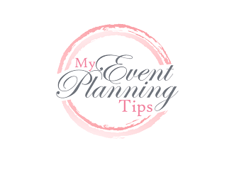 Event Planning Tips Blog or My Event Planning Tips Blog logo design