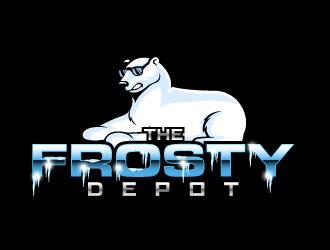 The Frosty Depot logo design
