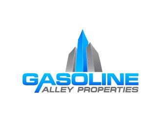 Gasoline Alley Properties logo design