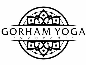 Gorham Yoga Company logo design