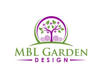 MBL Garden Design logo design