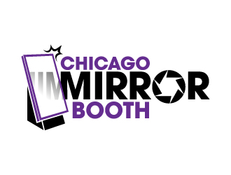 Chicago Mirror Booth logo design