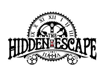 THE HIDDEN ESCAPE logo design