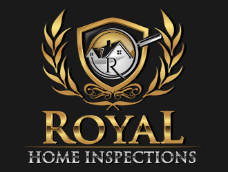 Royal Home Inspections logo design