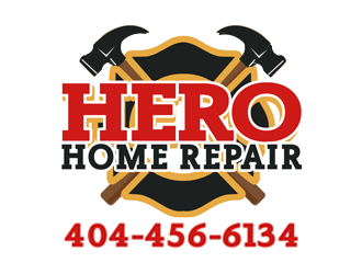 Hero Home Repair logo design