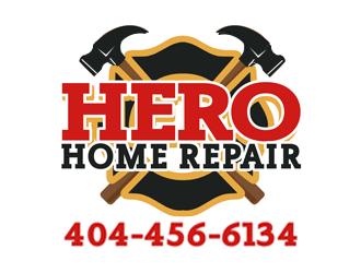 Hero Home Repair logo design