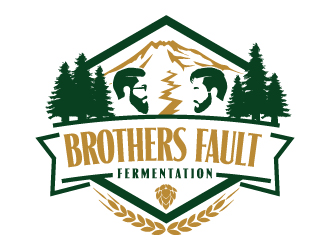 Brothers Fault Fermentation logo design