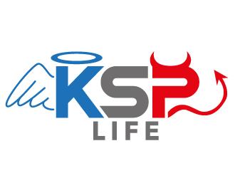 KSP Life logo design