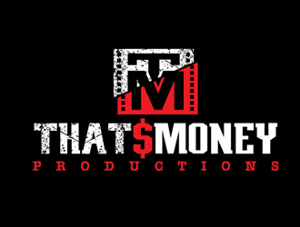 Thats Money PRODUCTIONS logo design