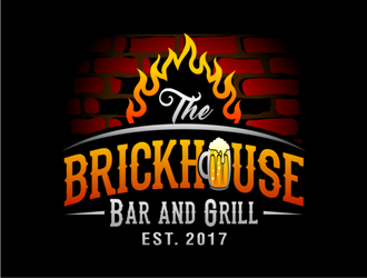 Brickhouse Bar and Grill logo design