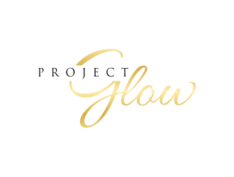 Project Glow logo design