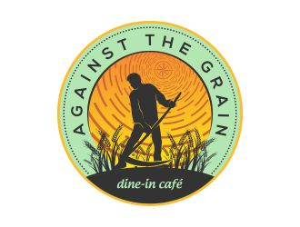 Against the Grain logo design