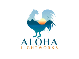 Aloha Lightworks logo design