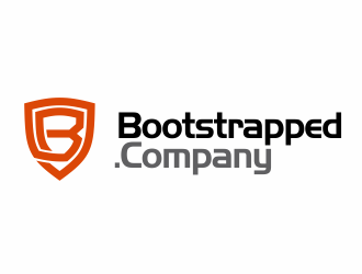 Bootstrapped.Company logo design