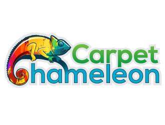 Carpet Chameleon logo design