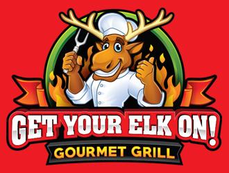 Gourmet Grill logo design