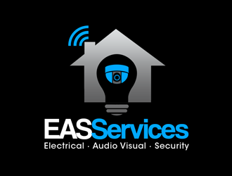 EAS Services logo design