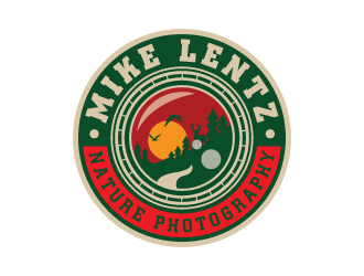Mike Lentz Nature Photography logo design