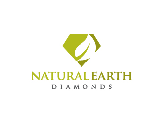 Natural Earth Diamonds logo design