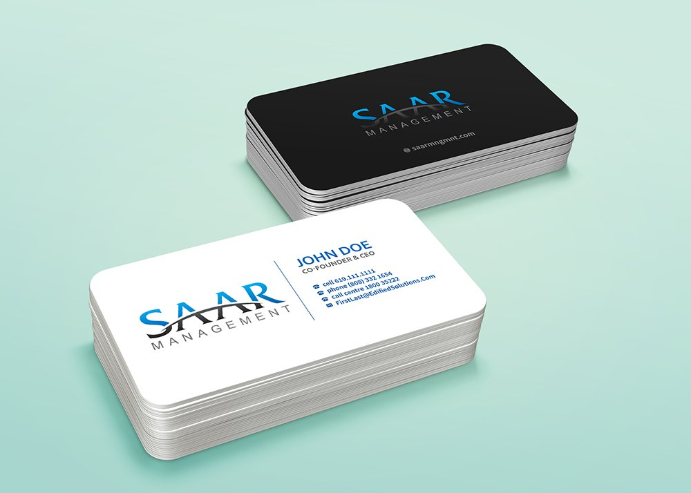SAAR MANAGEMENT LLC logo design