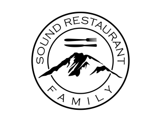 Sound Restaurant Family logo design