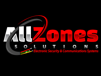 AllZones Solutions logo design