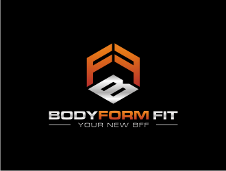 BodyForm Fit logo design