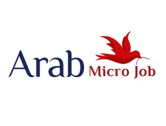 Arab micro job logo design