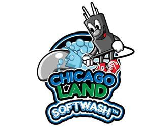 ChicagoLand Softwash logo design