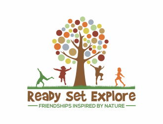 Ready Set Explore logo design