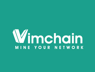 vimchain logo design