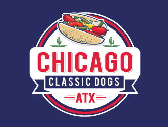 Chicago Classic Dogs, ATX logo design