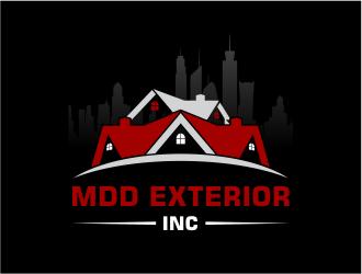 Mdd exterior inc. logo design