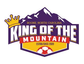 King of the Mountain logo design