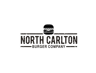 North Carlton Burger Company logo design