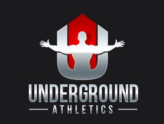 Underground Athletics logo design