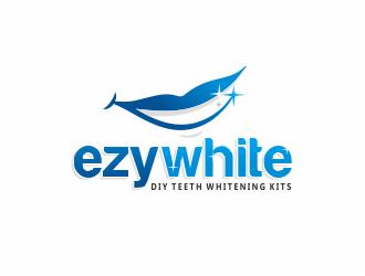 Ezy White - DIY Teeth Whitening Kits logo design