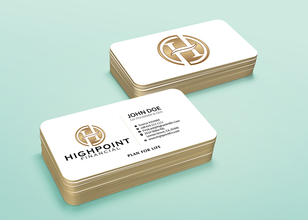 Highpoint Financial logo design
