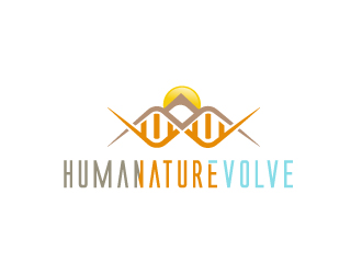 HUMANATUREVOLVE logo design
